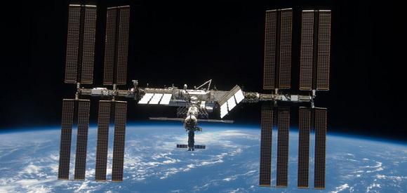 På rumstationen ISS må astronauterne nu affinde sig med højere madpriser ombord. Foto: ISS
